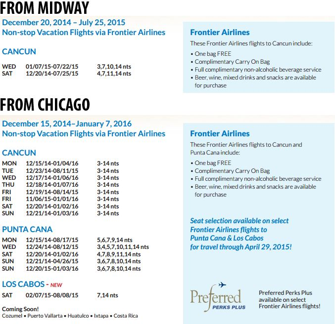 frontier airlines flight schedule pdf